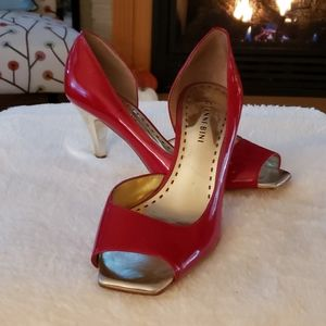 Gianni Bini red HOLIDAY shoes size 8